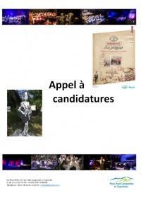 Apercu Appel à Candidatures