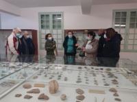 Premiere visite au musée de Minerve