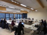 reuniondu Pays Haut Languedoc et Vignobles  avec la Chambre d&aposAgriculture de l&aposHérault