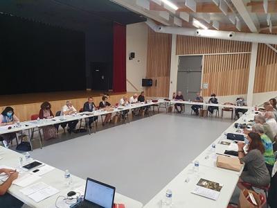 Le comité syndical du Pays à Murviel-les-Béziers