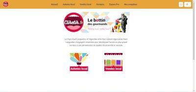 Aperçu du site internet Cliketic.fr